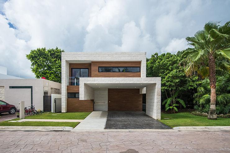 Casa J ARQUITECTURAZUL Casas modernas