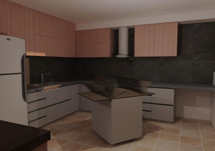 CG Diseño Armarios de cocinas Madera