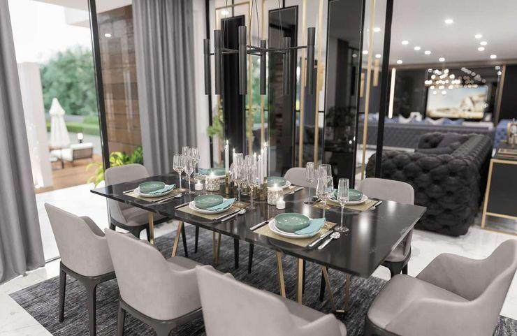 Sapanca Villa VERO CONCEPT MİMARLIK Modern Yemek Odası