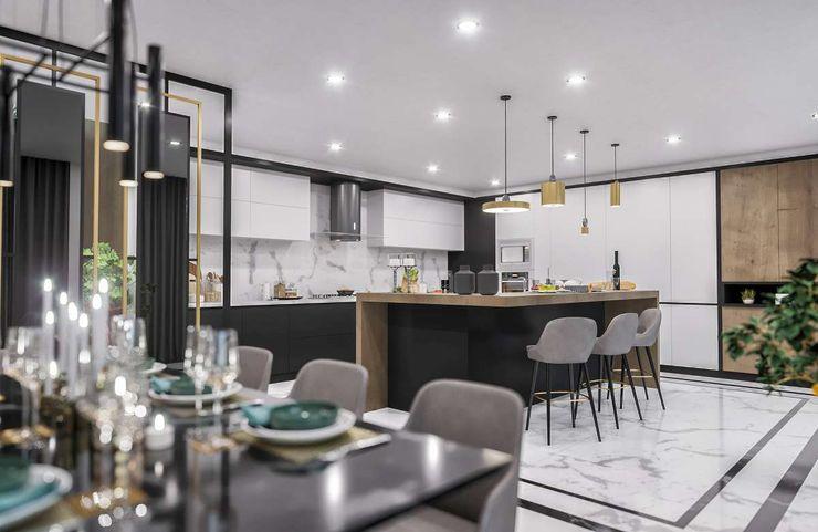 Sapanca Villa VERO CONCEPT MİMARLIK Modern Mutfak