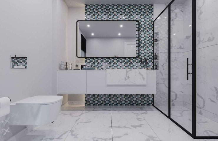 Sapanca Villa VERO CONCEPT MİMARLIK Modern Banyo