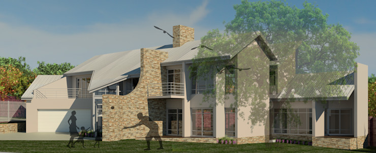 VIEW FROM THE NORTH WEST Nuclei Lifestyle Design Modern houses