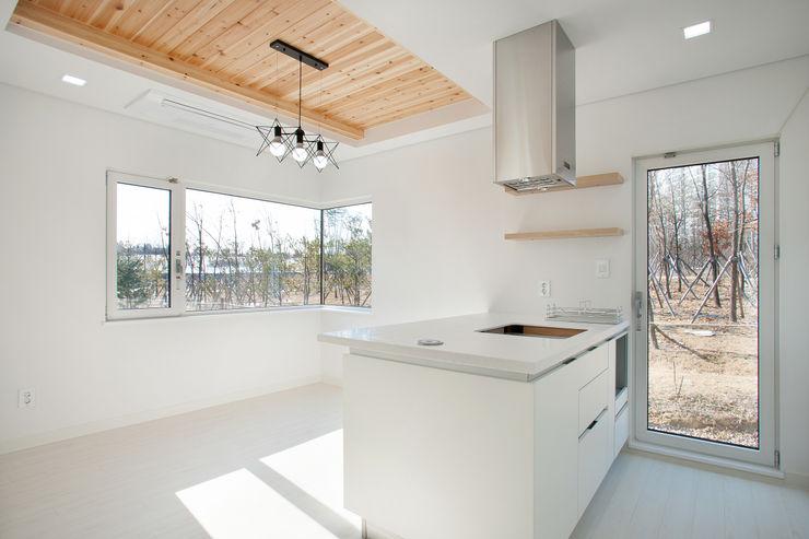 반디건축디자인 Modern Kitchen