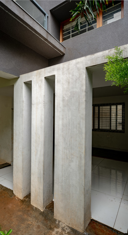 Ink Architecture Стены и пол в стиле модерн