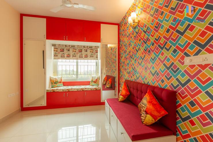 Brigade Meadows, 3 BHK—Dr. Usha & Dr. Mohan DECOR DREAMS Small bedroom