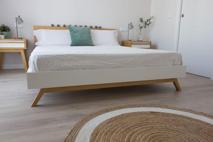 EL DORMITORIO DE ISABEL Y ALBERTO KELE voy a hacer Dormitorios de estilo escandinavo