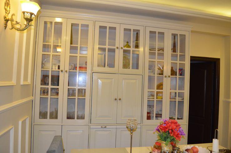 Eldeco - 704, Indrapuram Neun Designs Pvt.Ltd. Asian style dining room
