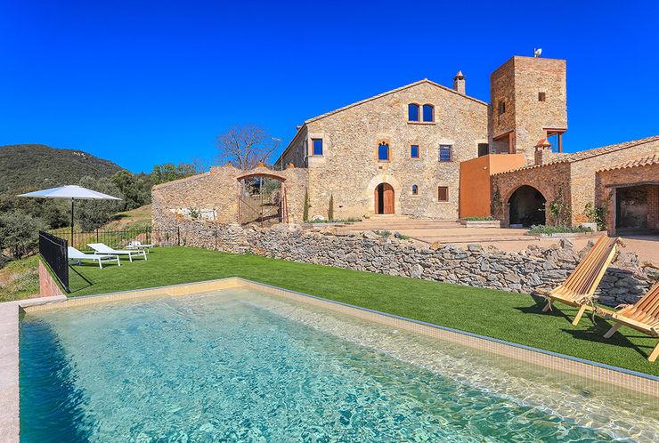 Home Staging en Masía en Girona Markham Stagers Casas rurales Piedra