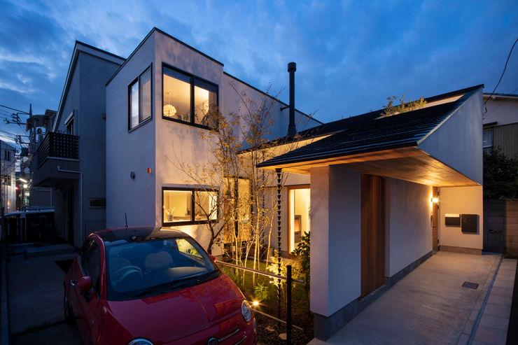 遠藤誠建築設計事務所(MAKOTO ENDO ARCHITECTS) 목조 주택 화이트