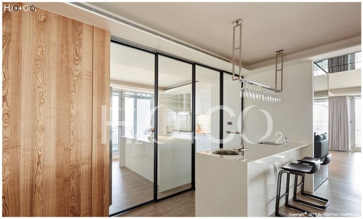 廚房與吧檯 光合作用設計有限公司 小廚房