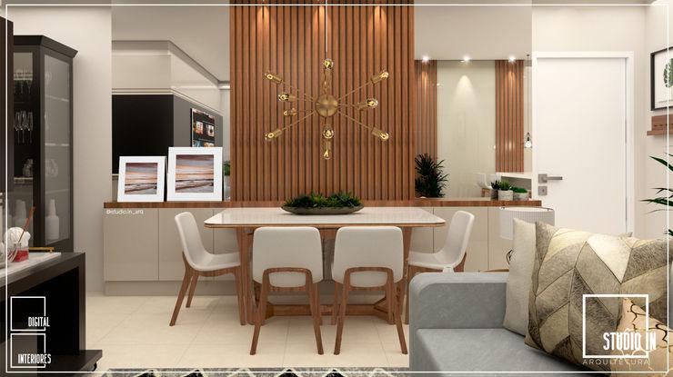 SALA DE JANTAR Studio In Arquitetura Salas de jantar modernas