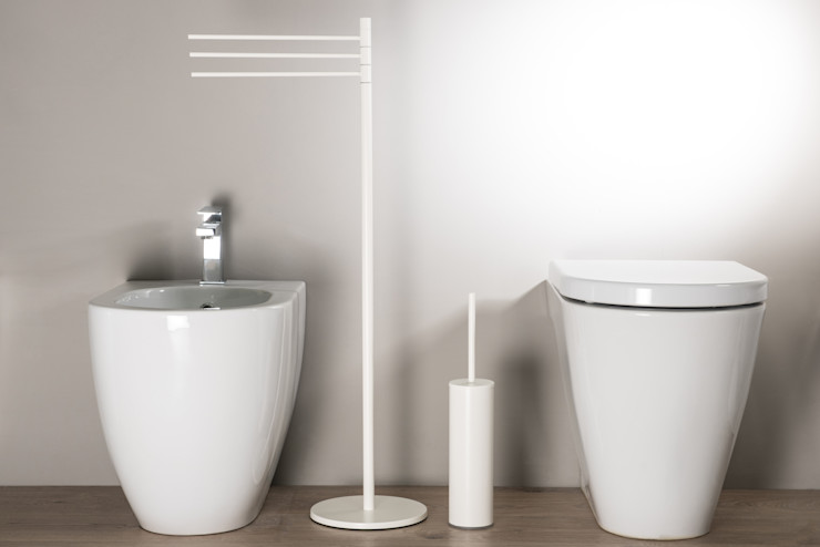 Idearredobagno.it Modern Bathroom Copper/Bronze/Brass