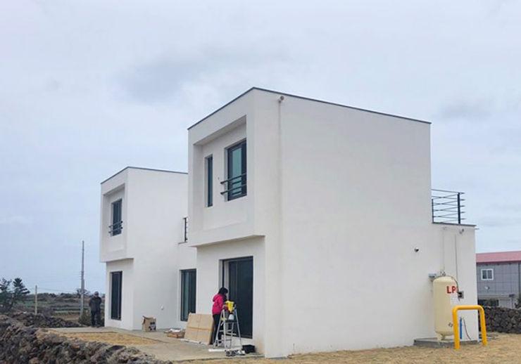 한글주택(주) Country house Concrete White