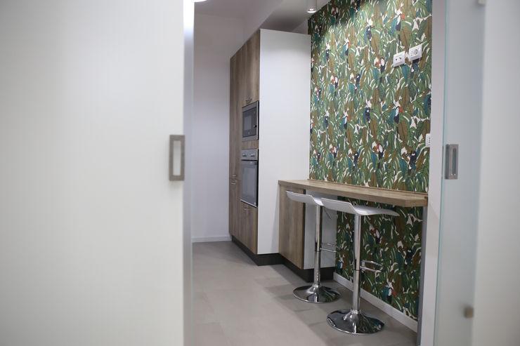APPARTAMENTO 80 mq T_C_Interior_Design___ Cucina piccola