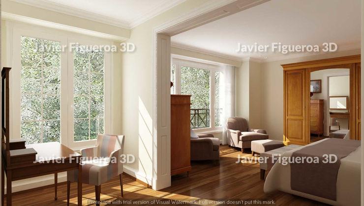 Javier Figueroa 3D Kamar Tidur Klasik