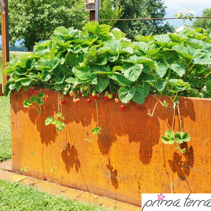 Angels Garden Sandra Hofbauer und Stefan Franke GbR Rustic style garden Iron/Steel Brown