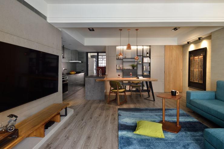 星葉室內裝修有限公司 Industrial style dining room