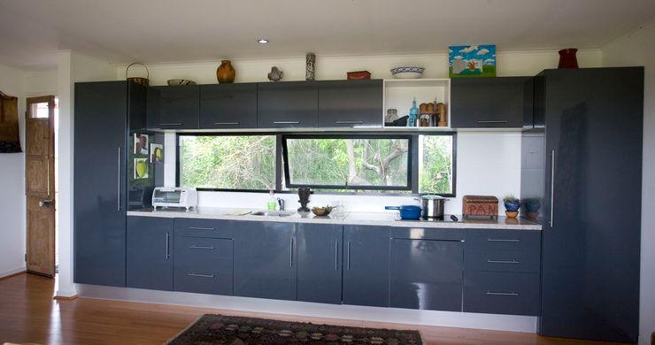 Cocina vivienda ecoloft Curicó INFINISKI Cocinas de estilo moderno