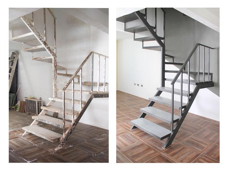 Taller Onze Cầu thang Kim loại