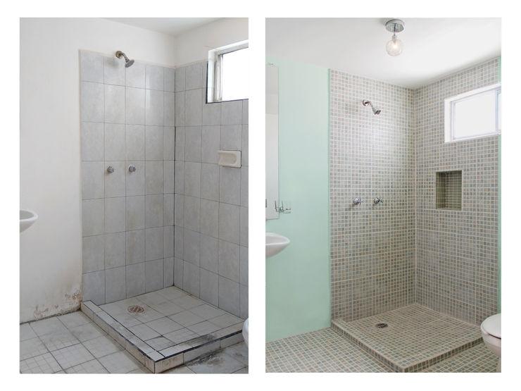 Taller Onze Phòng tắm phong cách hiện đại