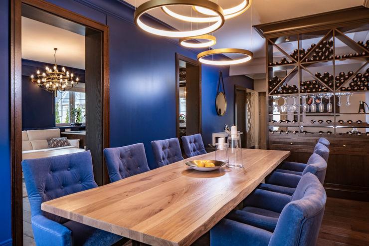Studio Projektowe Projektive Eclectic style dining room