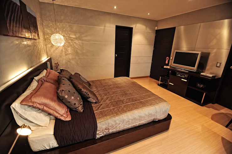 ORGANICA ARQUITECTURA Dormitorios de estilo moderno