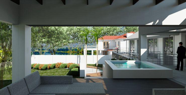 Exterior view – entertainment area (after) Nuclei Lifestyle Design Patios