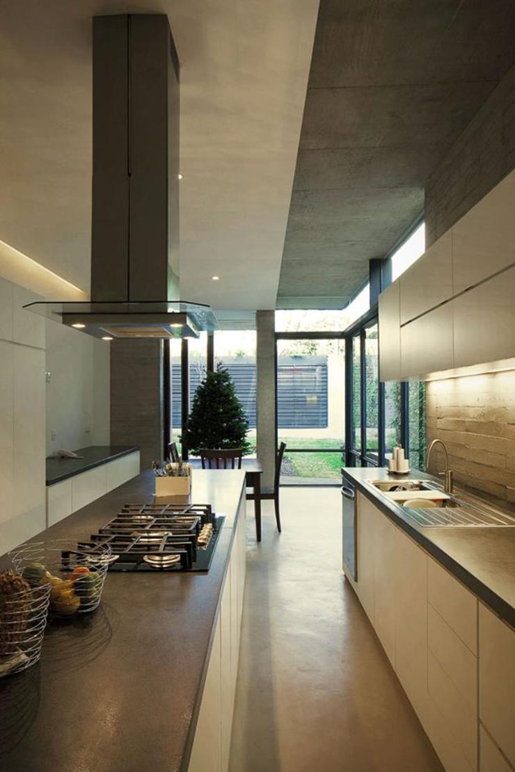 Brenno il mobile Built-in kitchens Wood White