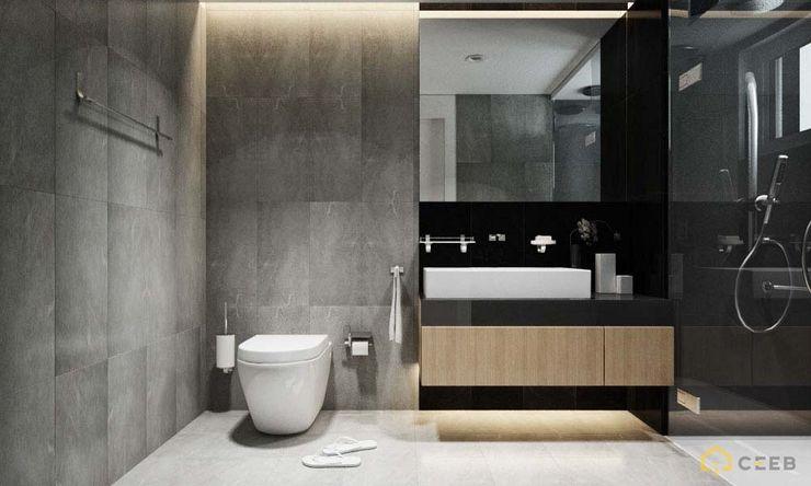 nội thất căn hộ hiện đại CEEB Ванная комната в стиле модерн