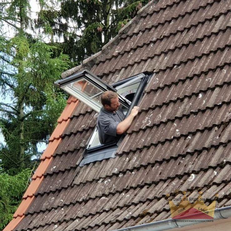 Dachfenster Einbau in Bielefeld Dachdeckermeisterbetrieb Dirk Lange | Büro Herford Dach