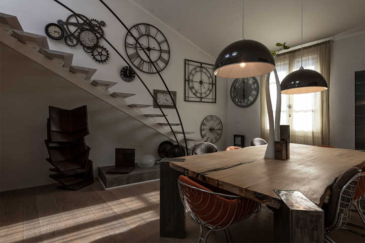 GIAN MARCO CANNAVICCI ARCHITETTO Industrial style kitchen