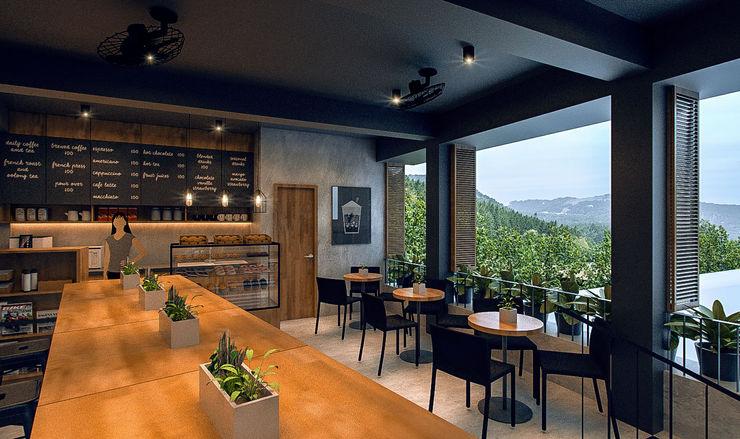 Arciete + Orillo Architects Restaurantes