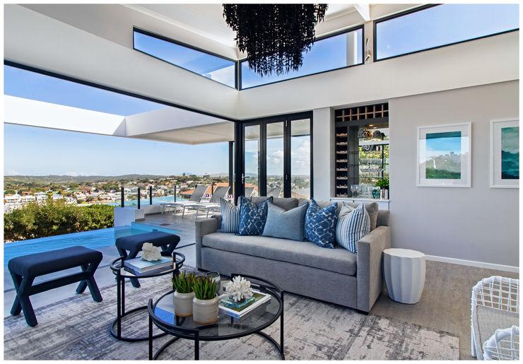 Beach House Living Joseph Avnon Interiors Living room