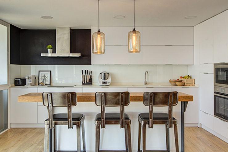 Cocinas abiertas al salón. Decorando tu espacio - interiorismo y reforma integral en Madrid. Cocinas integrales