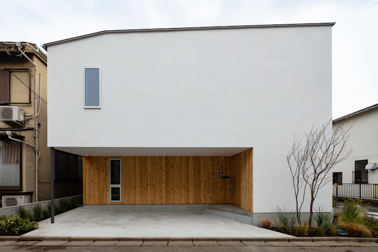 hm+architects 一級建築士事務所 Modern Houses White