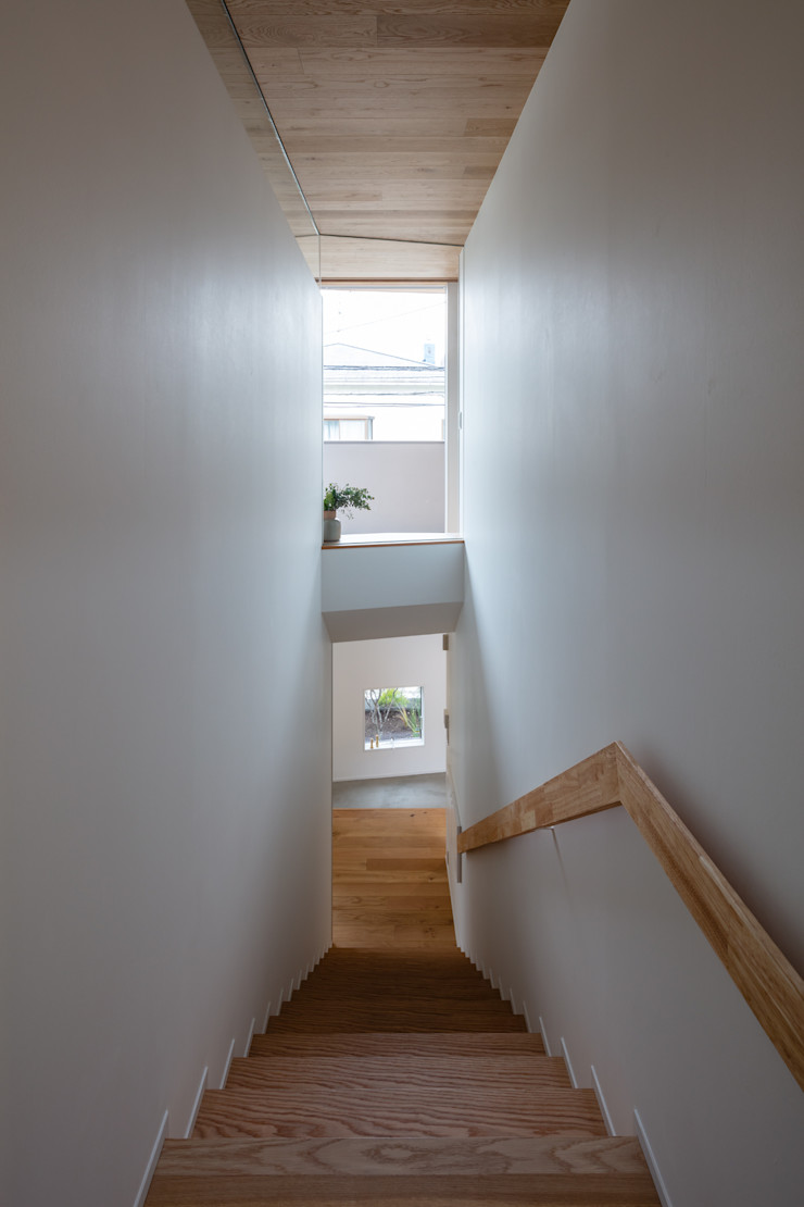 hm+architects 一級建築士事務所 Stairs White