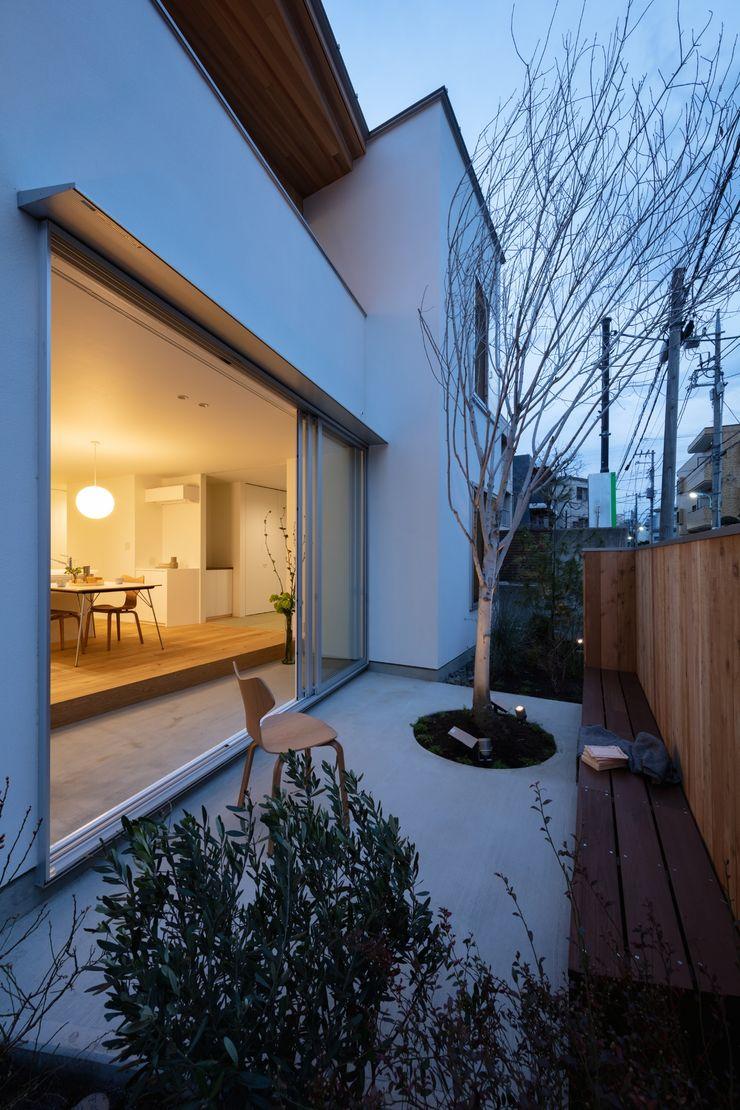 hm+architects 一級建築士事務所 Modern Garden Concrete