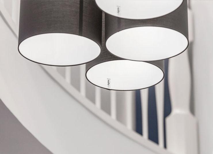 Beleuchtung zon Eichen - Handwerk und Interior Treppe Holz Braun