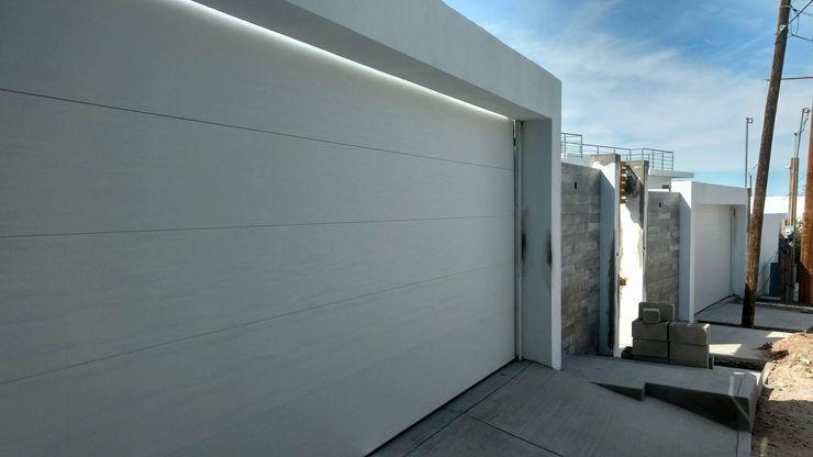 ESLAP PUERTAS AUTOMATICAS Carport Iron/Steel White
