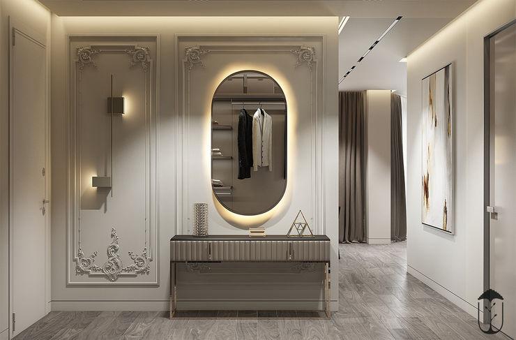 YOUSUPOVA Pasillos, vestíbulos y escaleras de estilo ecléctico