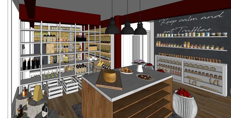 Konzeptarbeit Trüffel Store Ladengeschäft Kaldma Interiors - Interior Design aus Karlsruhe
