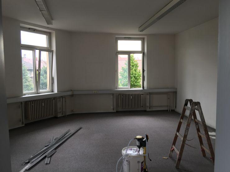 Besprechungszimmer Vorher Kaldma Interiors - Interior Design aus Karlsruhe