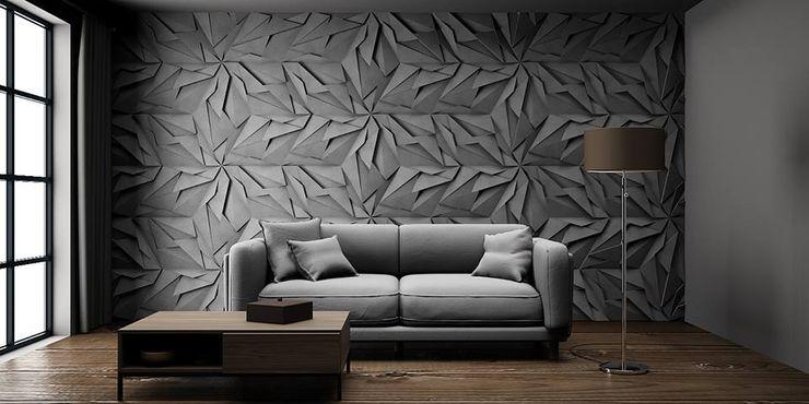ZICARO - producent paneli 3D Walls Ceramic Grey