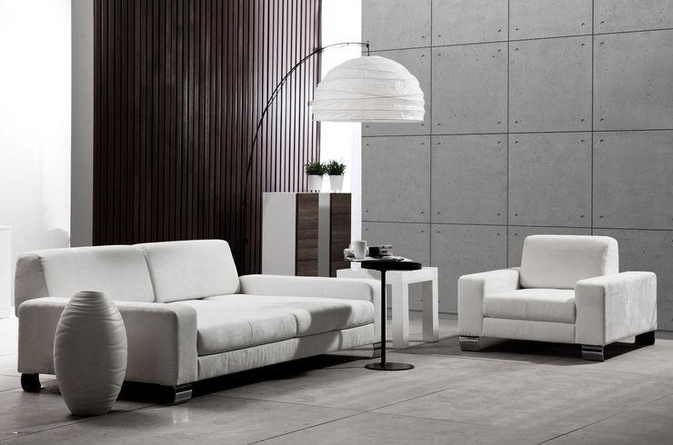 Loft Design System Deutschland - Wandpaneele aus Bayern Salones modernos Concreto Gris