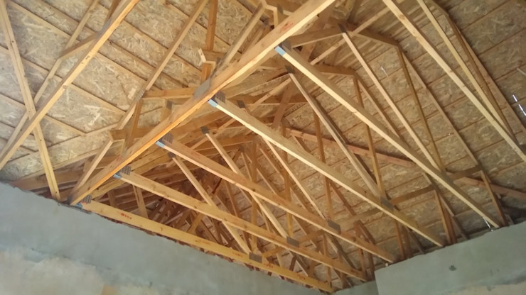 Roof construction interior Nuclei Lifestyle Design Roof