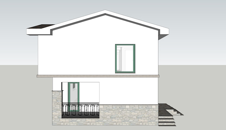 MİMPERA Casas de estilo mediterráneo Piedra Blanco