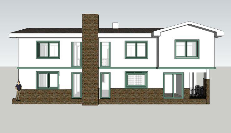 MİMPERA Casas de estilo mediterráneo Ladrillos Blanco