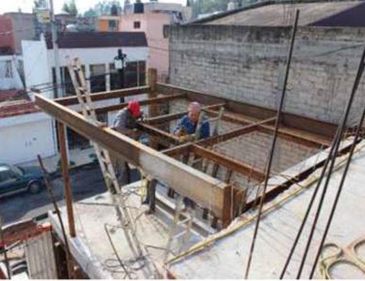 EStructura metalica 8 AM INGENIERIA Casas unifamiliares