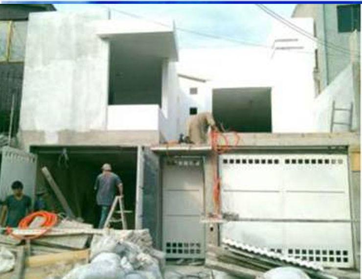 proceso constructivo 8 AM INGENIERIA Casas unifamiliares