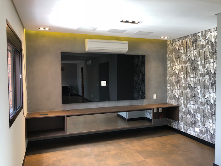 ABBITÁ arquitetura Modern Media Room